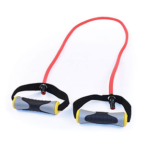 RUBBER PULL EXERCISER