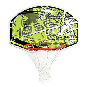 SURE SHOT 'ANNIVERSARY' BASKETBALL BACKBOARD AND RING