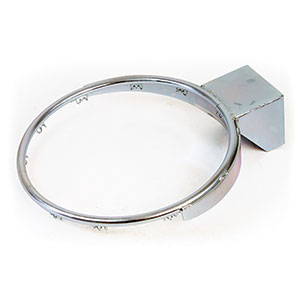 GALVANISED BASKETBALL RING
