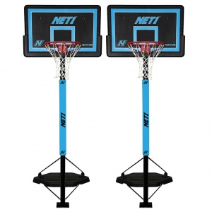 AND1 LAY UP PORTABLE BASKETBALL SYSTEM