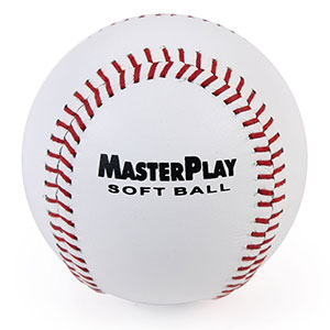 MASTERPLAY LEATHER SOFTBALL