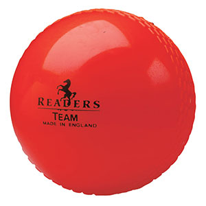READERS TEAM CRICKET BALL