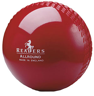 READERS ALL ROUND CRICKET BALL