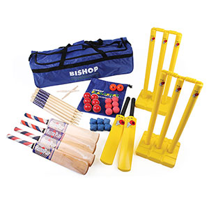 JUNIOR CRICKET COACHING KIT