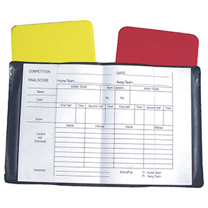 REFEREES CARDS