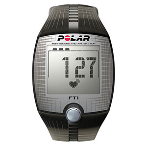POLAR FT1 HEART RATE MONITOR FITNESS TRAINING COMPUTER