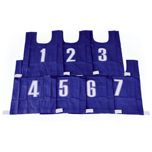 COTTON BIBS NUMBERED 1-7