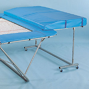 STANDARD TRAMPOLINE END SPOTTING DECK, PAIR