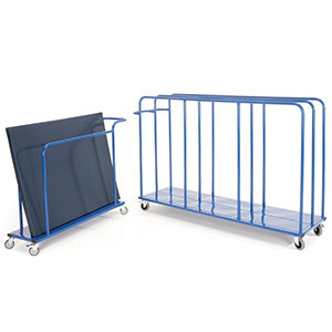 VERTICAL MAT TROLLEY