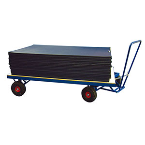 SUPER HEAVY DUTY HORIZONTAL MAT TROLLEY