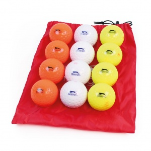 SLAZENGER TRAINING DIMPLE HOCKEY BALL - MIXED