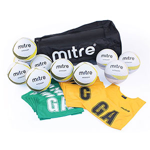MITRE NETBALL COACHING KIT