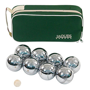 8 BOULE SET IN ZIP CASE
