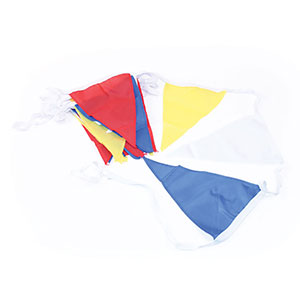 COLOURED NYLON BUNTING