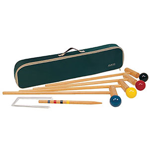 CROQUET SET - PLAYMATE 4 PLAYER JUNIOR