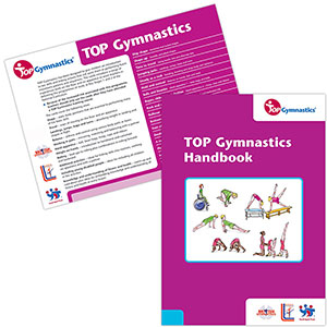 TOP GYMNASTICS CARDS AND HANDBOOK