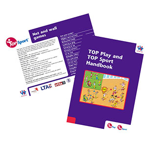 TOP SPORT NET AND WALL GAMES CARDS AND HANDBOOK