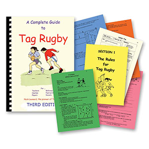 A COMPLETE GUIDE TO TAG RUGBY, BOOK
