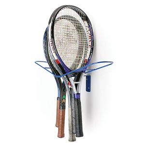 SQUASH / TENNIS RACKET STORAGE RACK