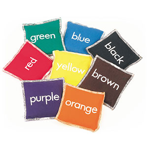 COLOURED BEAN BAG