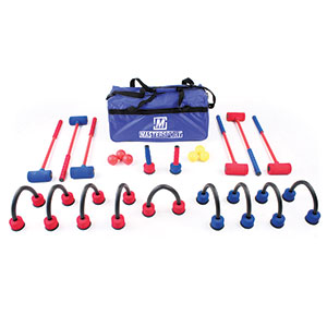SUPER FOAM CROQUET SET