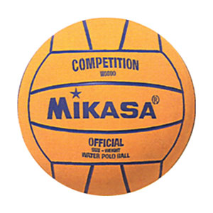 MIKASA W6000 SERIES COMPETITION WATER POLO BALL