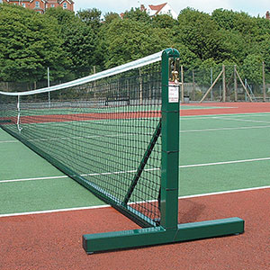 STEEL FREESTANDING TENNIS POSTS (PAIR)