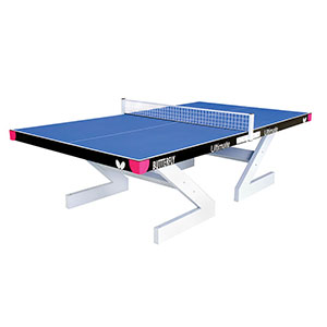 BUTTERFLY CITY OUTDOOR CONCRETE TABLE TENNIS TABLE