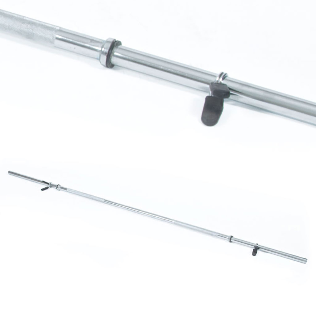 CHROME PLATED BARBELL BAR - 25MM (1'')