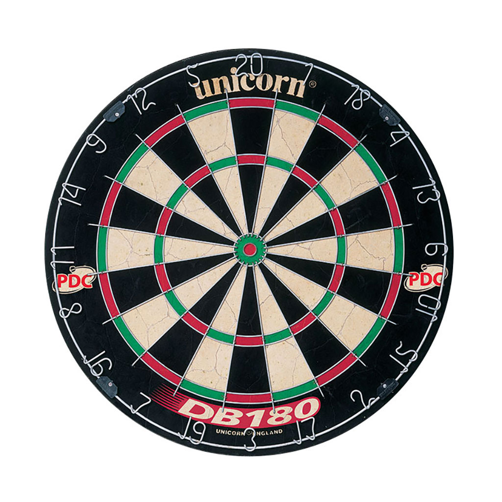 UNICORN DB180 BRISTLE DARTBOARD