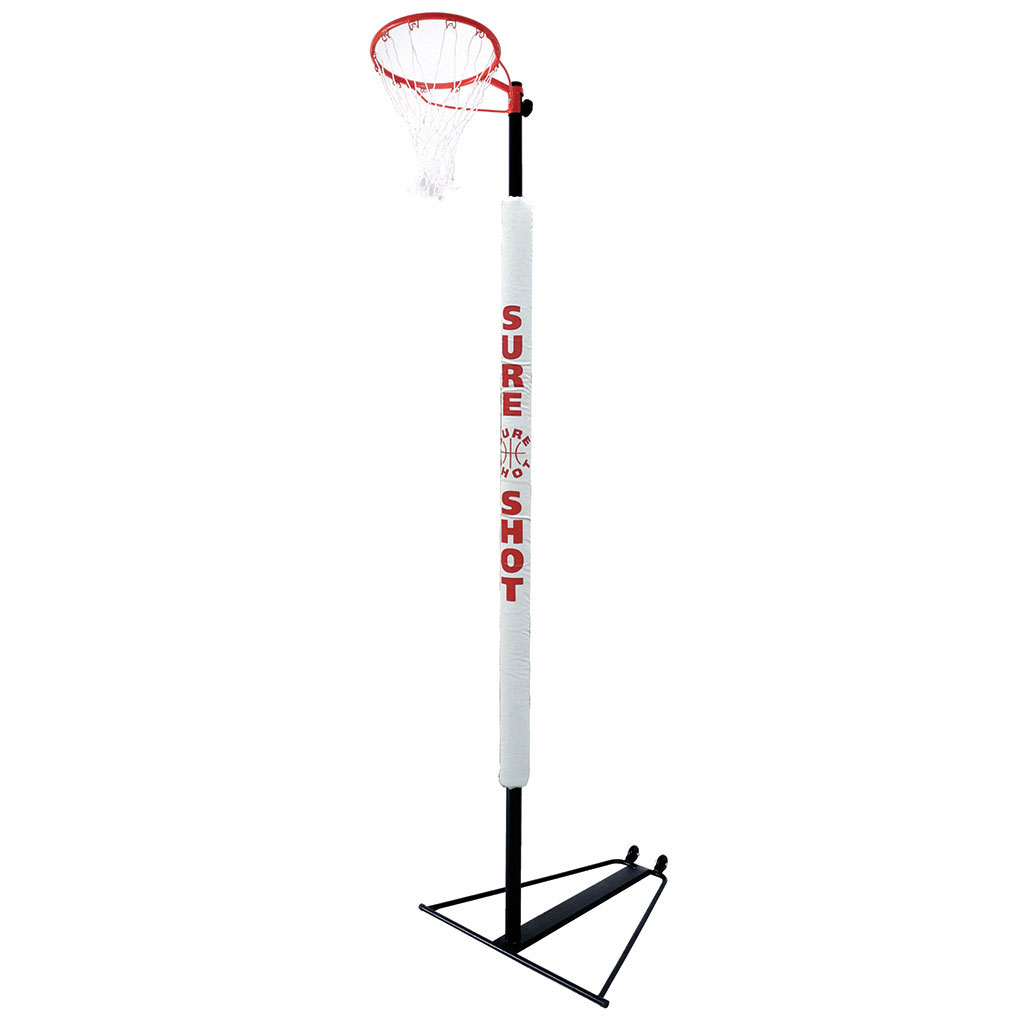 SURE SHOT 502 TRANSPORTABLE NETBALL POST