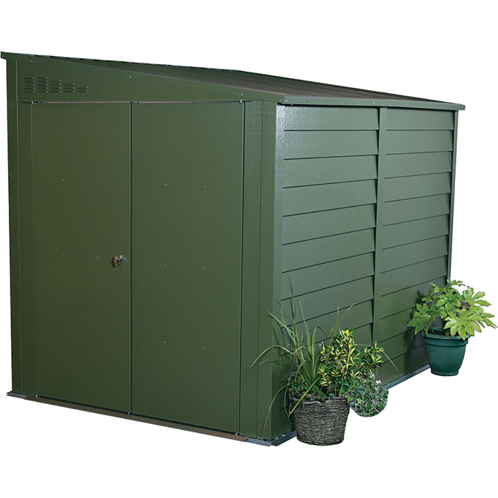 TITAN PENT ROOF SHED