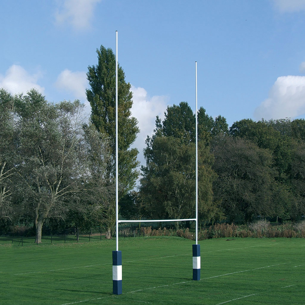 No 2a Socketed Steel Rugby Posts Bishopsport Co Uk