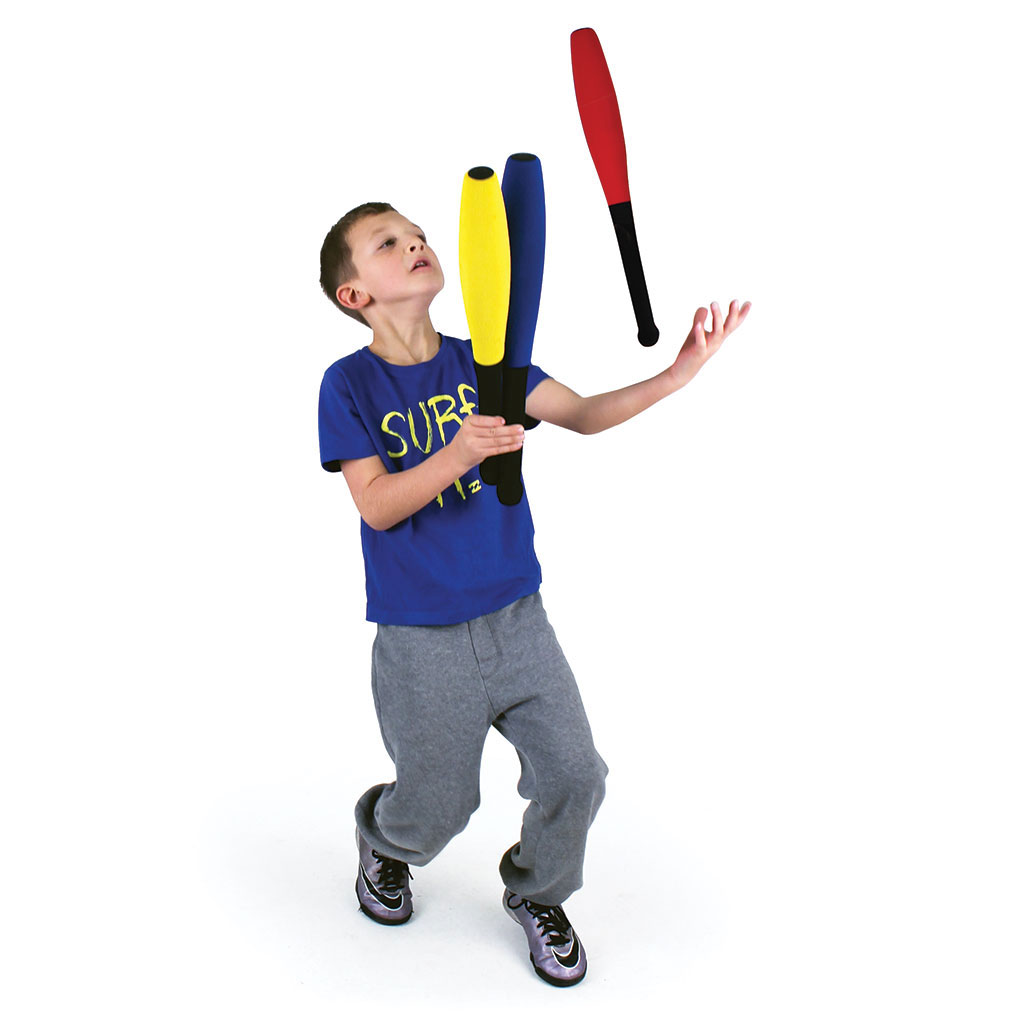 FOAM JUGGLING CLUBS