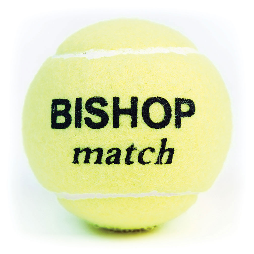 BISHOP MATCH TENNIS BALL