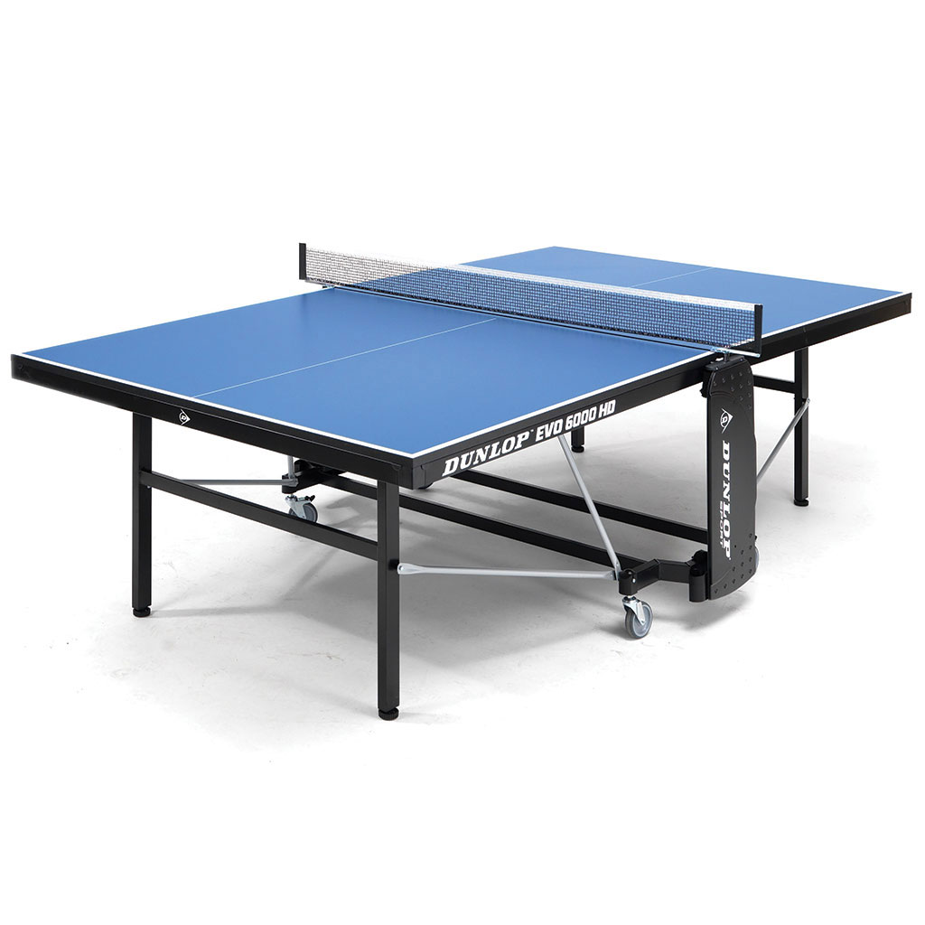 07e8c0d4a DUNLOP EVO 6000 HD INDOOR 22 TABLE TENNIS TABLE - bishopsport.co.uk