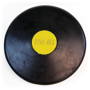 RUBBER TRAINING DISCUS