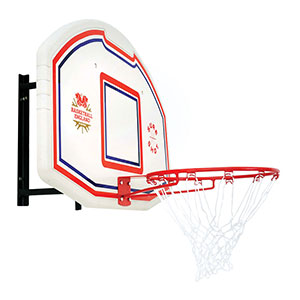 SURE SHOT 506 BASKETBALL BACKBOARD AND RING
