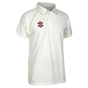 GRAY-NICHOLLS MATRIX SHORT SLEEEVE CRICKET SHIRT