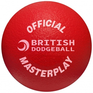 OFFICIAL BRITISH DODGEBALL MASTERPLAY FOAM DODGEBALL