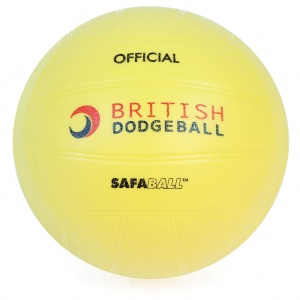 OFFICIAL BRITISH DODGEBALL SAFABALL SOFTTOUCH DODGEBALL