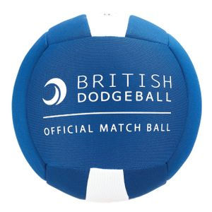OFFICIAL BRITISH DODGEBALL MATCH BALL