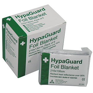 DISPOSABLE FOIL BLANKET