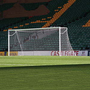 THE 3G STADIUM FOOTBALL GOAL, ELBOW NET SUPPORT