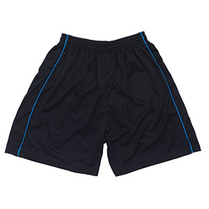 FOOTBALL SHORTS WITH CONTRAST PIPING