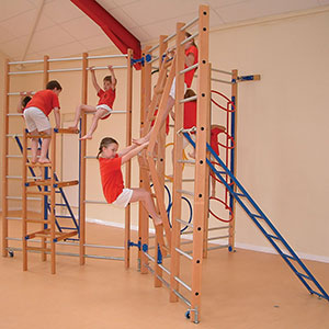 TRIO NOVA CLIMBING FRAME TIMBER BALANCE BEAM