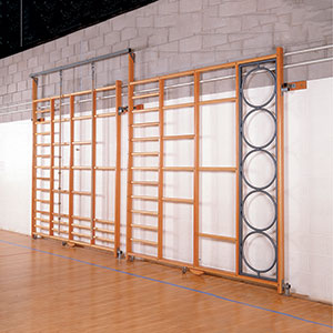 DOUBLE HINGED CLIMBING FRAME