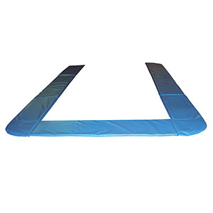 SCHOOL COVERALL TRAMPOLINE FRAME PADS WITH LIFT/LOWER STANDS