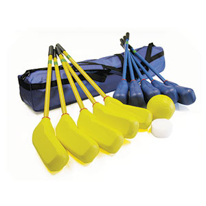SOFT FOAM MOULDED HOCKEY SET AND HOLDALL