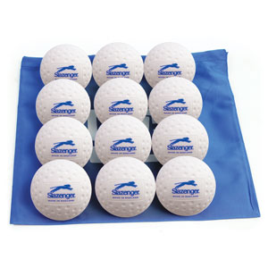 SLAZENGER MATCH DIMPLE HOCKEY BALL